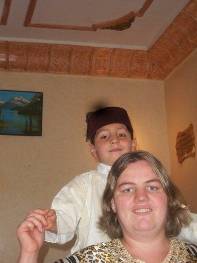 ma soeur et mes neveu et ma niece marocain
