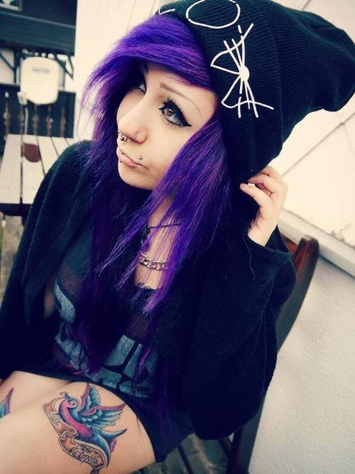 Emo girl :3