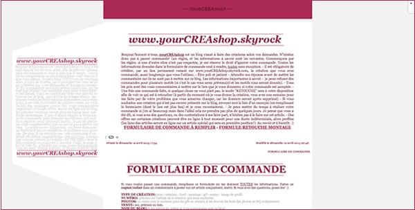 fonds #001- prix: 40 vrais - FORMULAIRE DE COMMANDE À REMPLIR