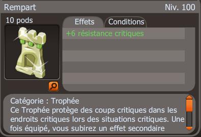 Trophées!