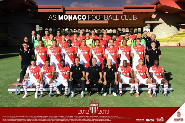 presentation de l'AS MONACO FC