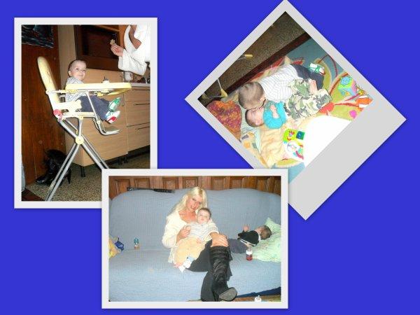 montage photo de mes neveux dorian mon fileull et batis mon neveux