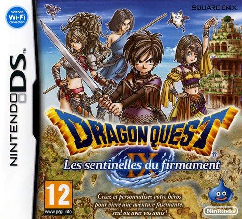Test de Dragon Quest IX: Les Sentinelles du firmament / DS.
