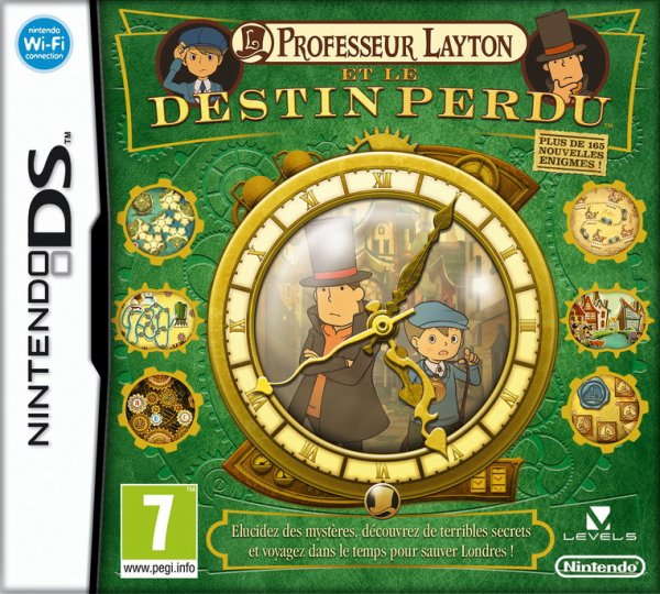 Test de Professeur Layton et le Destin Perdu / Nintendo DS