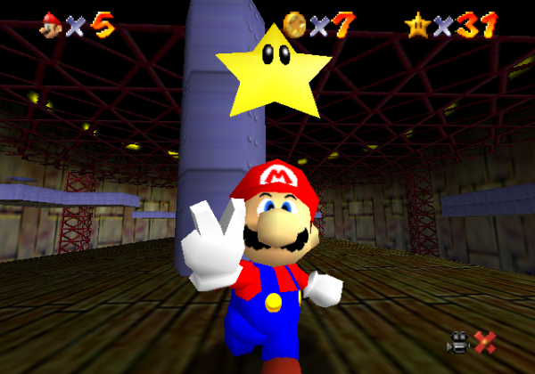 Test de Super Mario 64 sur Nintendo 64 ( sans blague )