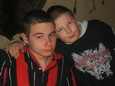 moi et tatane en 2007 ou 2008