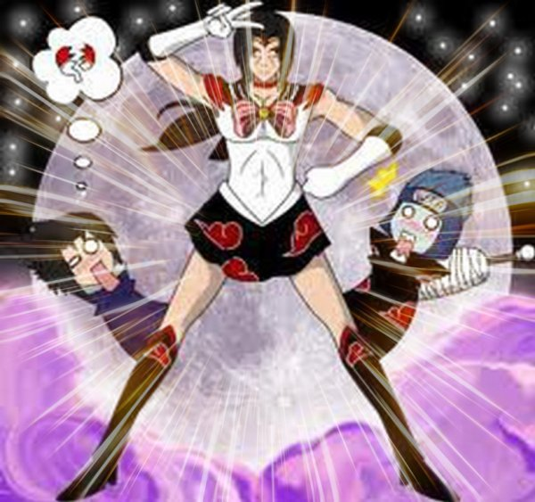Itachi en mode Sailor Mars