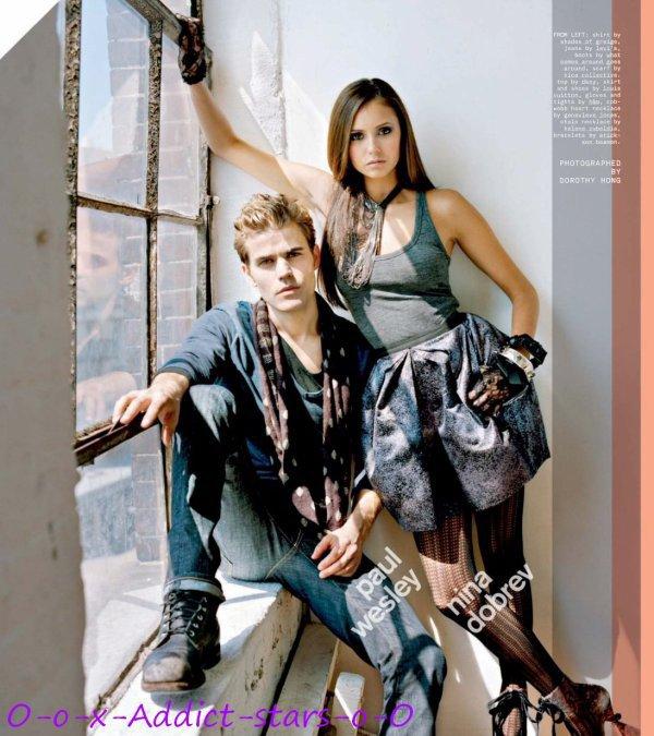 Paul et Nina en mode stylé !