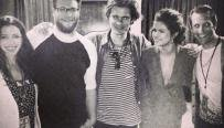 voici une photos de Selena Gomez avec Orlando bloom