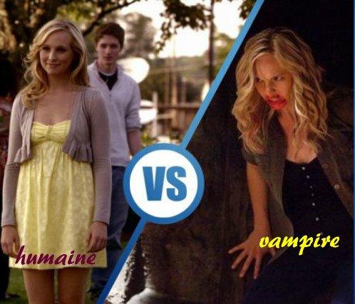 Caroline vampire ou humaine
