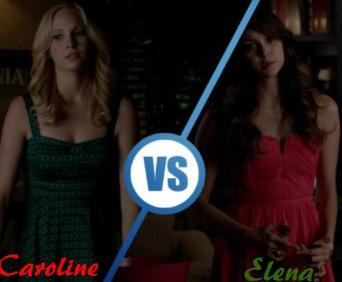 Caroline vs Elena