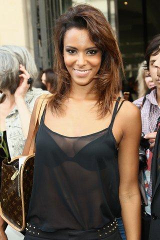 Fashion Week Shy'm au défilé Jean-Paul-Gaultier et de Didit Hediprasetyo (le 4juillet)