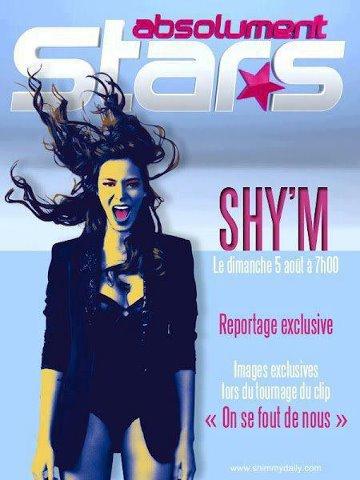 Shy'm dans Absolument star Dimanche 5 aout a partir de 7h!!