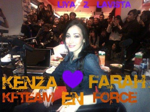 Kenza Farah séance de dédicase 17/02 à Toulouse