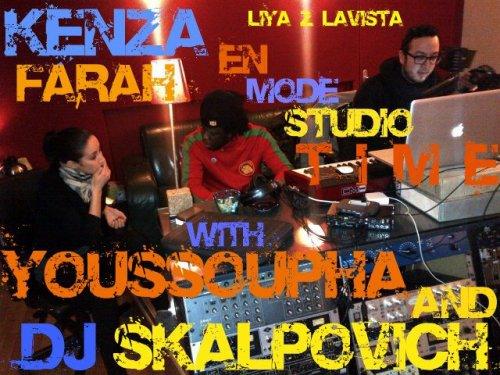 KENZA FARAH EN MODE STUDIO TIME