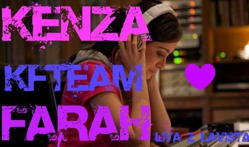 :)) Kenza Farah en mode studio time :))