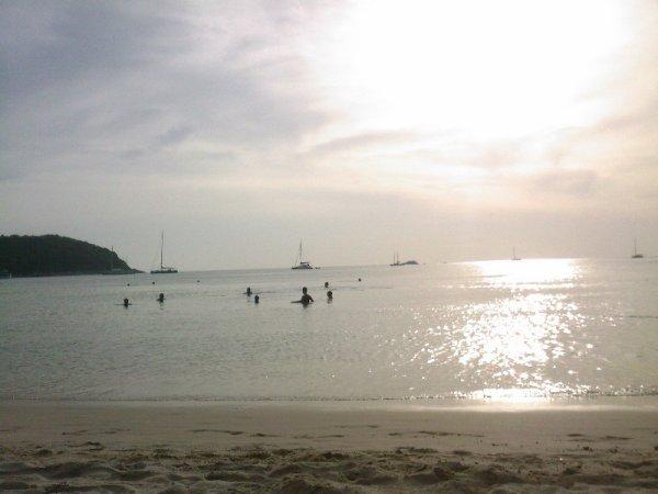 coucher de soleit thailande