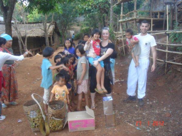 souvenir d un vilage  thailande