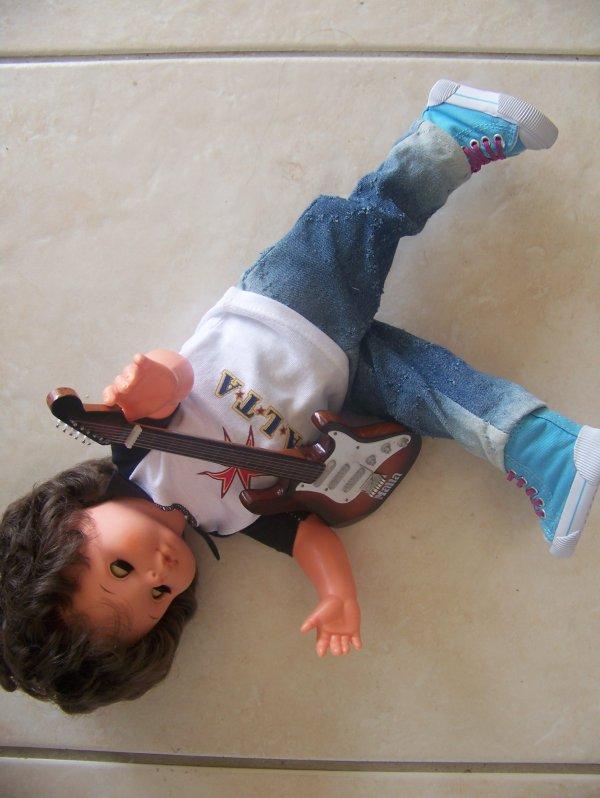 Dans mes valises, les poupées ont trouvé ...