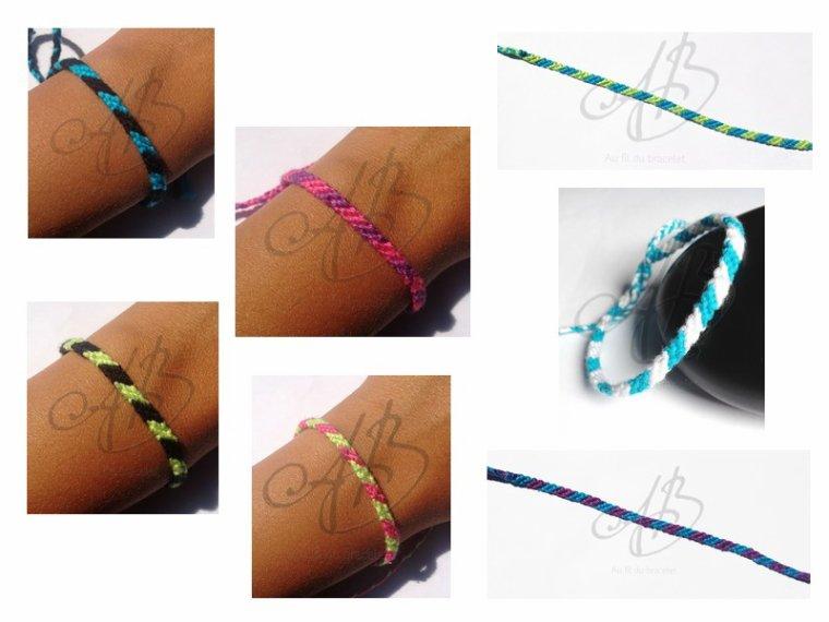 """Bracelet brésilien """"Modèle 1"""""""