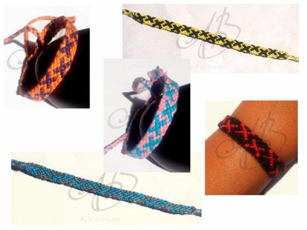 """Bracelet brésilien modèle """" Croix """""""