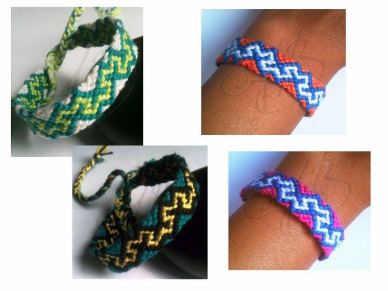 """Bracelet brésilien """"Modèle WM"""""""