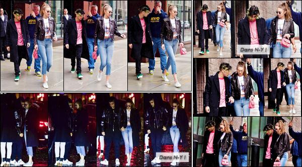 - '-13/05/17-' ◊Gigi Hadid a été vue en compagnie de Zayn Malik en sortant de son appartement à Manhattan. Plus tard dans la journée, mais également dans la soirée, le « couple » a été vu alors qu'ils se trouvaient dans les rues de New-York City ! -