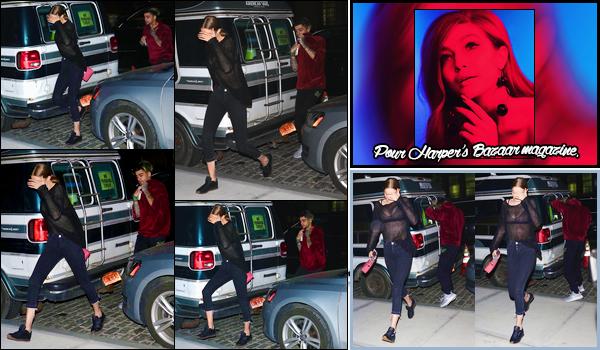 - '-19/05/17-' ◊Gigi Hadid a été photographiée alors qu'elle revenait à son appartement avec Zayn Malik, N-Y. C'est alors en pleine soirée que nous retrouvons Gigi accompagnée de Zayn. Tout deux peu décidé à vouloir supporter le flash. Un flop ! -