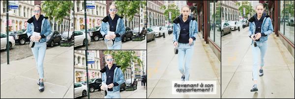 - '-25/05/17-' ◊Gigi Hadid a été vue en compagnie de sa mère alors qu'elle se promenait dans les rues de N-Y. Plus tôt, mère et fille ont été vues quittant l'agence « IMG Model » également située dans New-York. Je donne un petit flop à Gigi. Et toi? -