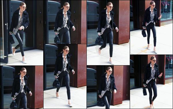 - '-01/02/17-' ◊Gigi Hadid a été aperçue alors qu'elle était en train de sortir de son appartement, Manhattan. C'est dans un joli top que nous retrouvons la notre adorable Gigi Hadid. Malheureusement, peu de photos se trouvaient être disponible. -