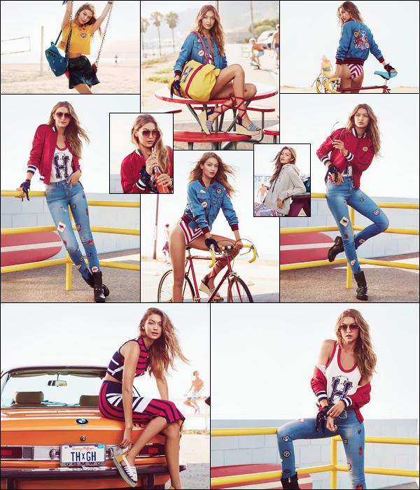 ▬Découvrez le shoot deGigi pour sa collection avec la marque Tommy Hilfiger :«TommyxGigi»!