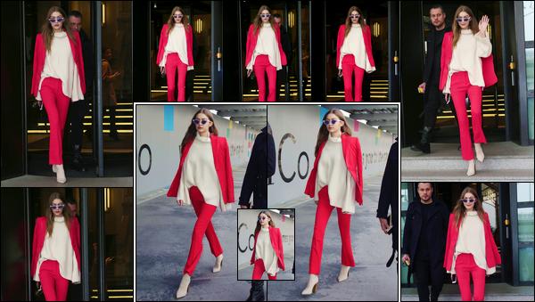 - '-24/02/17-' ◊Gigi Hadid a été photographiée alors qu'elle quittait son hôtel qui était situé dans Milan, Italie. Suivie à la trace par les paparazzis, Gigi a également été photographiée alors qu'elle se promenait dans les rues de Milan, un grand top ! -