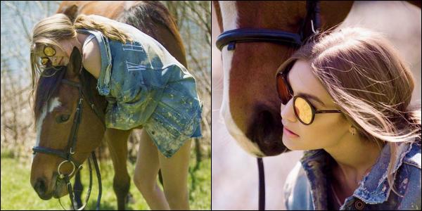 ▬Deux nouveaux clichés de Gigi H. pour la marque de lunettes :« Vogue Eyewear»dont elle est égérie !