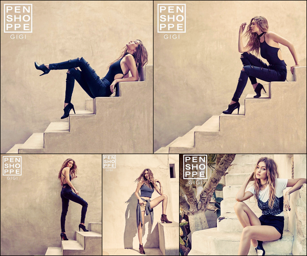 ▬Découvrez de nouvelles photos deGigi Hadidpour la marque« Penshoppe Summer Destination»!