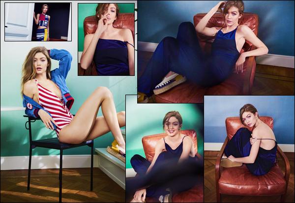 ▬Découvrez le shoot deGigi Hadidpour le célèbre magazine féminin« ELLE Neverland», deMai 2017!