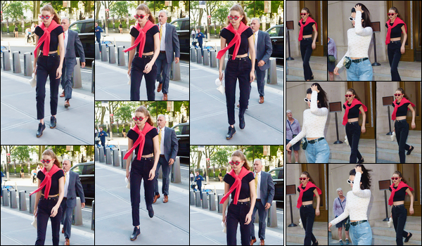- '-31/05/17-' ◊Gigi Hadid a été aperçue alors qu'elle arrivait au restaurant « Nobu », situé à New-York City. C'est en compagnie de son amie Kendall Jenner que Gigi a été aperçue par la suite sortant du restaurant après ce dîner entre amies ! -