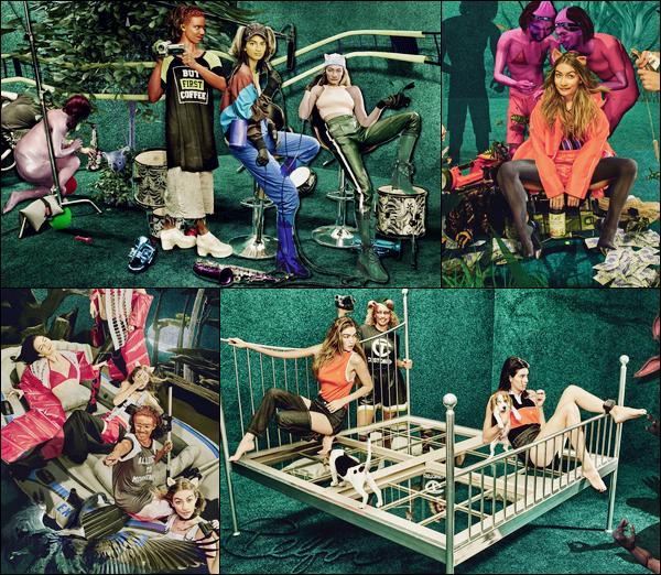 ▬Découvrez le photoshoot original de Gigi Hadid & Kendall Jennerpour le magazine«W Mgazine»!