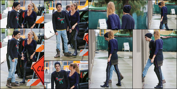 - '-07/02/17-' ◊Gigi et Zayn ont été photographiés alors qu'ils arrivaient devant un bâtiment dans Los Angeles. C'est ainsi tout juste sortant de la voiture que nous retrouvons le pseudo couple dans Los Angeles. Un beau petit top pour ce look simple. -