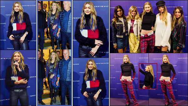 - -#TommyxGigi #TogetherTour ●- Découvrez les photos de Gigi lors du Together Tour à Copenhague, puis à Barcelone. C'est ainsi pour rencontrer ses fans que nous retrouvons Gigi le 23/09 pour Copenhague, et le 26/09 pour Barcelone ! Un top et un flop ! -