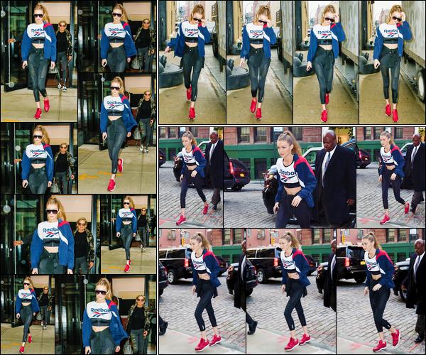 - '-07/12/16-' ◊Gigi Hadid a été photographiée alors qu'elle venait d'arriver à son appartement dans Manhattan. Plus tard, le même jour, Gigi a été vue alors qu'elle se trouvait dans les rues de New-York. Puis, plus tard, rentrant à son appartement ! -