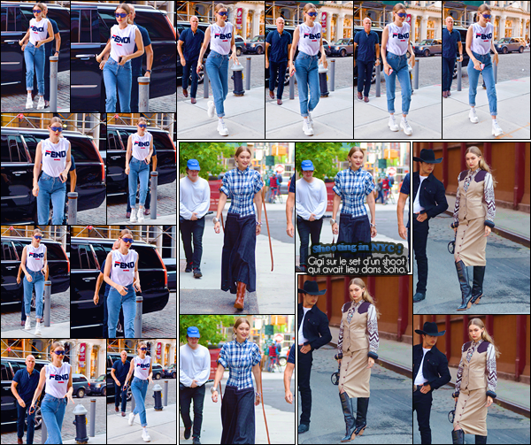 - -• 30/05/18-': Gigi Hadid a été photographiée alors qu'elle rentrait à son appartement situé dans Manhattan. C'est dans une tenue assez décontractée que nous retrouvons notre Gigi qui plus tôt dans la journée était sur le set d'un photoshoot, top. -