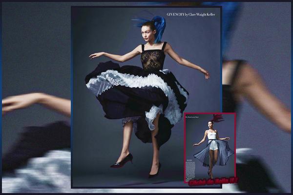 '-PHOTOSHOOT •-' Notre belle Gigi Hadidpour l'édition mars '18 du magazine «VOGUE USA »!