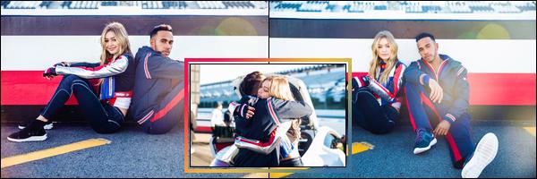'-PHOTOSHOOT •-' De nouveaux clichés deGigi Hadidpour la collection :«TOMMYxGIGI»!
