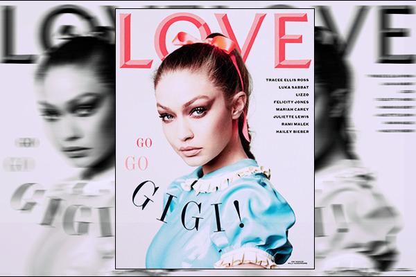 '-MAGAZINE •-'  Découvrez notre superbe Gigi H.  pour le fameux magazine : « L O V E » n°22 !