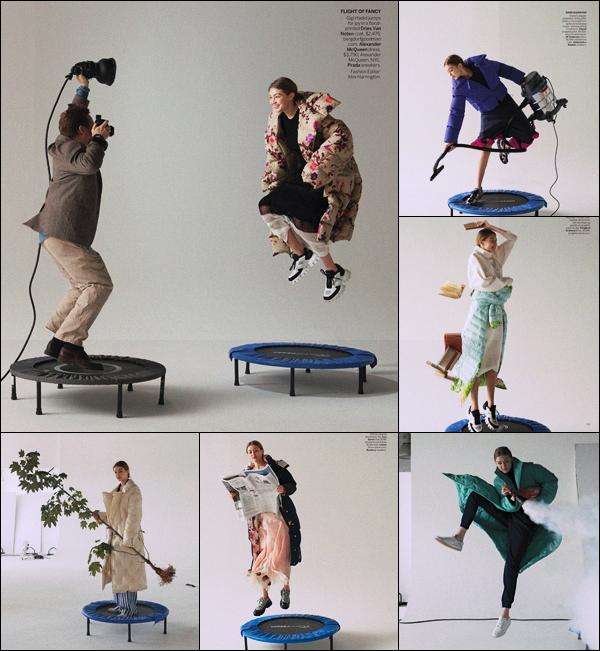'-MAGAZINE •-'  Découvrez notre superbe Gigi Hadid pour le fameux magazine : « V O G U E » !