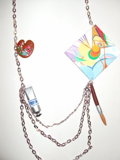 Collier l'artiste peintre !