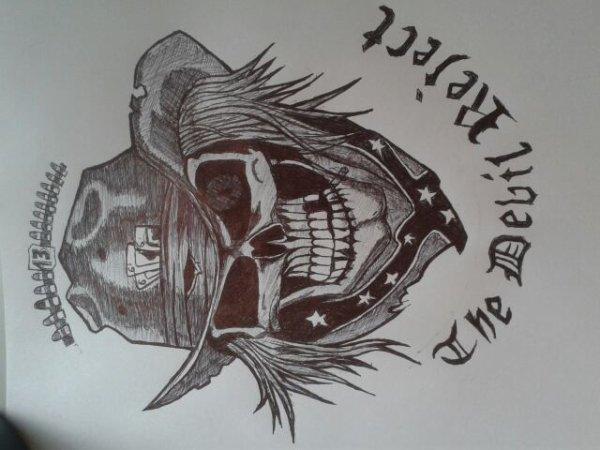 petit dessin d'une idée tattou