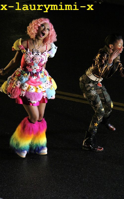 Willow Smith and Nicki Minaj