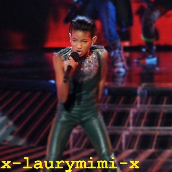 Willow in The x factor 1