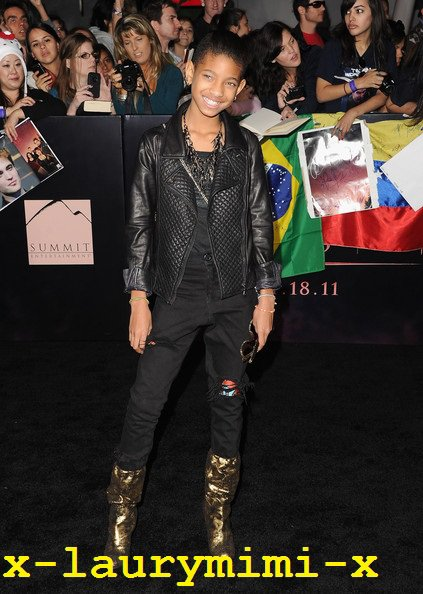 "Willow Smith : «The Twilight Saga: Breaking Dawn"" World Premiere 1"